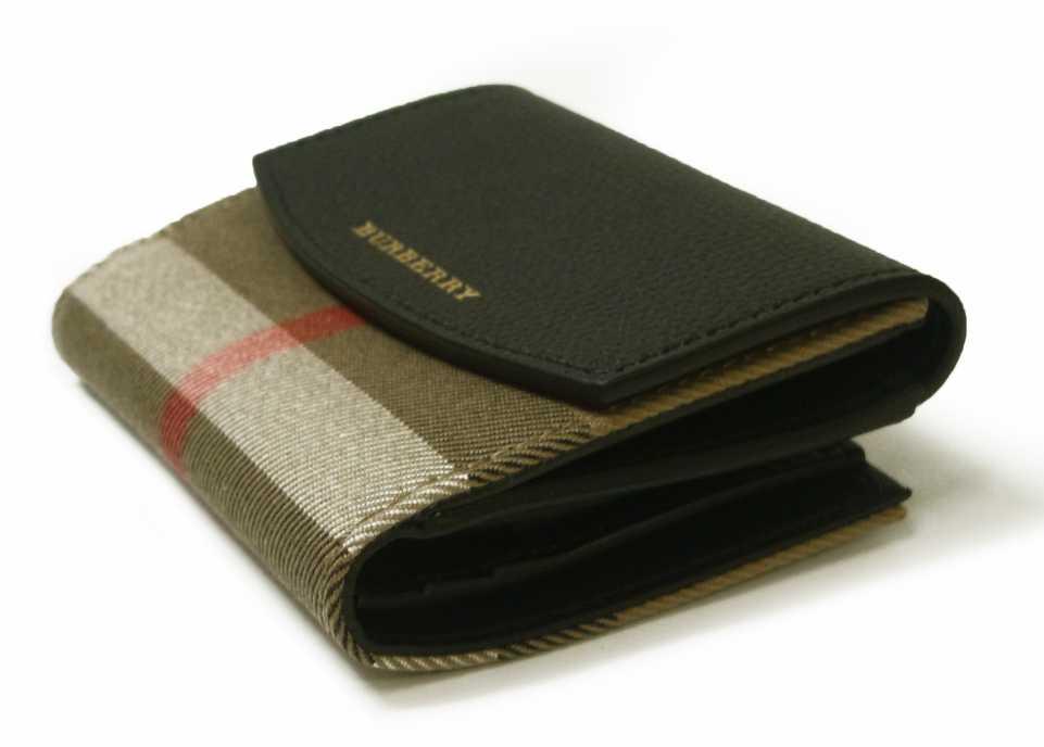 sale retailer 1bbc0 0c482 財布 レディース ハウスチェック ダービー DERBY(ブラック)