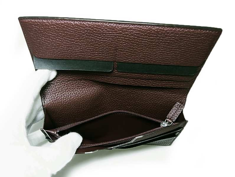 c06cde03c417 [ カルティエ ] 長財布 メンズ二つ折(セリエ/ボルドー) - CA-