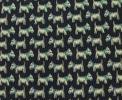 PhotoNo.5 サルヴァトーレフェラガモ ネクタイ (スコティッシュテリア) シルク100% ダークブルー