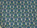 PhotoNo.2 サルヴァトーレフェラガモ ネクタイ (ネコのカップル)シルク100% ペトロリオブルー