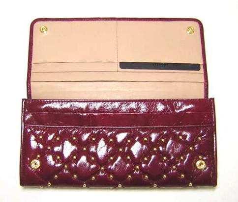 93bd15ef9b34 プラダ ] アンティークソフトボルク 二つ折長財布(アメティスタ) - P-3940