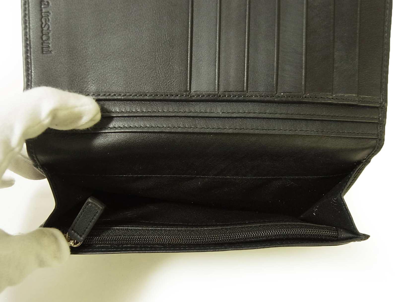 099cc49ecb5f ... PhotoNo.5 テストーニ 長財布 メンズ 二つ折り (ブラック) ...