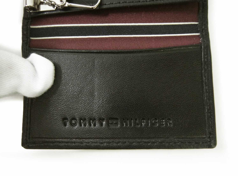 d2fe6308d580 PhotoNo.7 トミーヒルフィガー キーケース メンズ 6連(ブラック)HIGHLAND