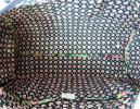 PhotoNo.6 ヴェラ・ブラッドリー バッグ ラウンドダッフル Round Duffel  (Petal Paisley)