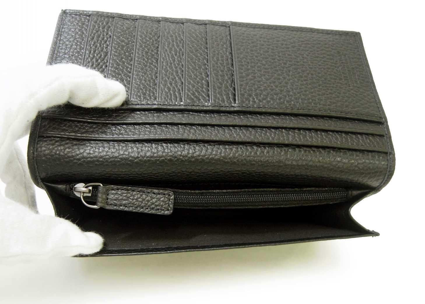 eb9263b7b935 ... PhotoNo.5 ジャンニヴェルサーチ 長財布 メンズ 型押し 二つ折 (ブラック) ...