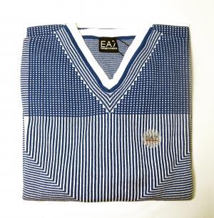 エンポリオアルマーニ ゴルフ用 プル オーバー (ブルー)  EA7