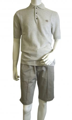 アルマーニ ポロシャツ ライトグレー ゴルフ メンズ エンポリオアルマーニ EA7 MainPhoto