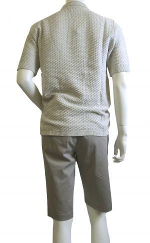 No.2 ポロシャツ ライトグレー ゴルフ メンズ エンポリオアルマーニ EA7
