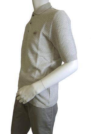 No.3 ポロシャツ ライトグレー ゴルフ メンズ エンポリオアルマーニ EA7