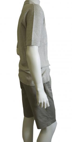 No.4 ポロシャツ ライトグレー ゴルフ メンズ エンポリオアルマーニ EA7