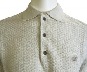 No.5 ポロシャツ ライトグレー ゴルフ メンズ エンポリオアルマーニ EA7