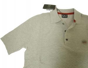 No.6 ポロシャツ ライトグレー ゴルフ メンズ エンポリオアルマーニ EA7