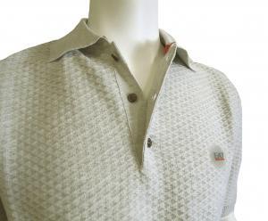 No.7 ポロシャツ ライトグレー ゴルフ メンズ エンポリオアルマーニ EA7