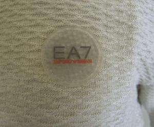 No.9 ポロシャツ ライトグレー ゴルフ メンズ エンポリオアルマーニ EA7
