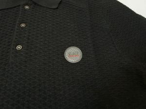 No.3 ポロシャツ ゴルフ メンズ ブラック エンポリオアルマーニ EA7