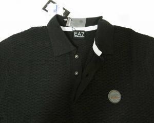 No.4 ポロシャツ ゴルフ メンズ ブラック エンポリオアルマーニ EA7