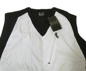 No.2 ベスト ゴルフ (ブラック + ホワイト)Lサイズ エンポリオアルマーニ EA7