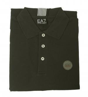 No.2 ポロシャツ グレー ゴルフ メンズ Sサイズ エンポリオアルマーニ EA7