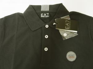 No.4 ポロシャツ グレー ゴルフ メンズ Sサイズ エンポリオアルマーニ EA7