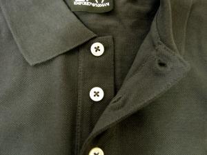 No.5 ポロシャツ グレー ゴルフ メンズ Sサイズ エンポリオアルマーニ EA7