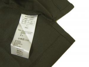No.7 ポロシャツ グレー ゴルフ メンズ Sサイズ エンポリオアルマーニ EA7