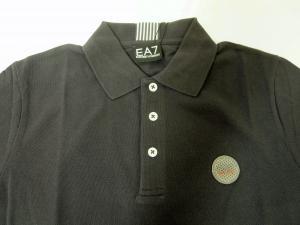 No.8 ポロシャツ グレー ゴルフ メンズ Sサイズ エンポリオアルマーニ EA7