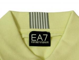 No.3 ポロシャツ レモンイエロー ゴルフ メンズ エンポリオアルマーニ EA7