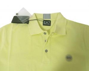 No.5 ポロシャツ レモンイエロー ゴルフ メンズ エンポリオアルマーニ EA7