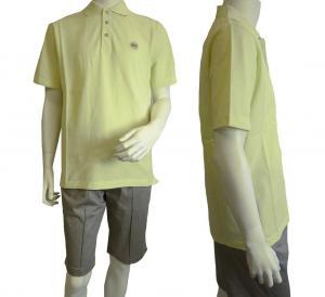 No.6 ポロシャツ レモンイエロー ゴルフ メンズ エンポリオアルマーニ EA7