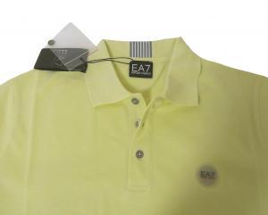 No.8 ポロシャツ レモンイエロー ゴルフ メンズ エンポリオアルマーニ EA7