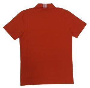 No.2 ポロシャツ レッド ゴルフ メンズ Sサイズ エンポリオアルマーニ EA7