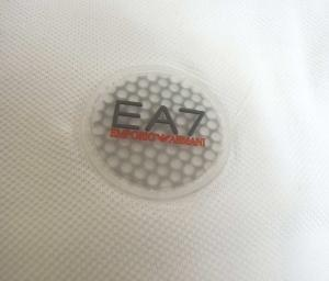 No.6 ポロシャツ ゴルフ メンズ ホワイト Sサイズ エンポリオアルマーニ EA7