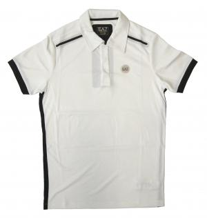 アルマーニ ポロシャツ (ホワイト) Lサイズ 速乾素材 ゴルフ用 EA7