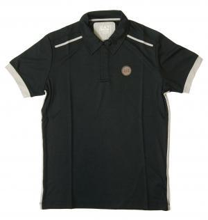 アルマーニ ポロシャツ 速乾素材 ゴルフ EA7 (ダークスレート) Sサイズ