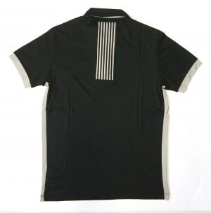 No.2 ポロシャツ 速乾素材 ゴルフ EA7 (ダークスレート) Sサイズ