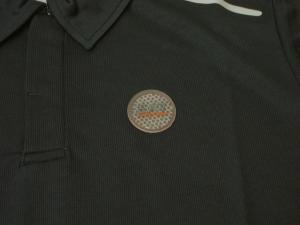 No.4 ポロシャツ 速乾素材 ゴルフ EA7 (ダークスレート) Sサイズ