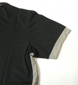 No.5 ポロシャツ 速乾素材 ゴルフ EA7 (ダークスレート) Sサイズ