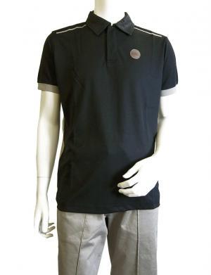 No.7 ポロシャツ 速乾素材 ゴルフ EA7 (ダークスレート) Sサイズ