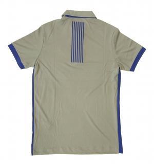 No.2 ポロシャツ グレー 速乾素材 ゴルフ用 EA7