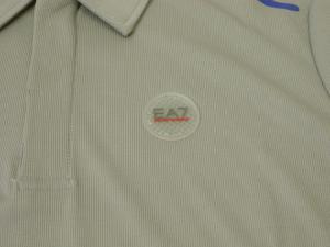 No.3 ポロシャツ グレー 速乾素材 ゴルフ用 EA7