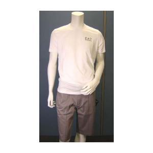 No.2 Tシャツ メンズ ホワイト エンポリオアルマーニ EA7