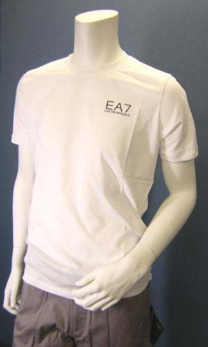 No.3 Tシャツ メンズ ホワイト エンポリオアルマーニ EA7
