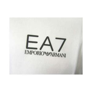 No.4 Tシャツ メンズ ホワイト エンポリオアルマーニ EA7