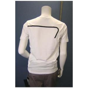 No.6 Tシャツ メンズ ホワイト エンポリオアルマーニ EA7