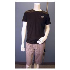 No.2 Tシャツ メンズ ブラック エンポリオアルマーニ EA7
