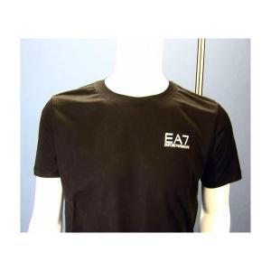 No.3 Tシャツ メンズ ブラック エンポリオアルマーニ EA7