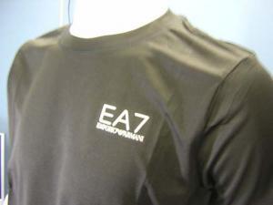No.4 Tシャツ メンズ ブラック エンポリオアルマーニ EA7
