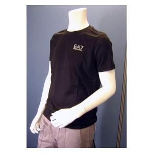 No.5 Tシャツ メンズ ブラック エンポリオアルマーニ EA7