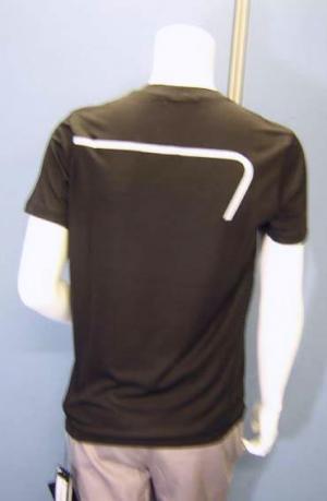 No.6 Tシャツ メンズ ブラック エンポリオアルマーニ EA7