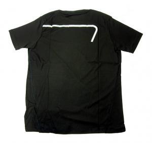No.7 Tシャツ メンズ ブラック エンポリオアルマーニ EA7